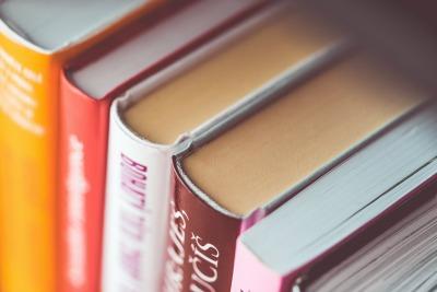 books-in-shelf-close-up
