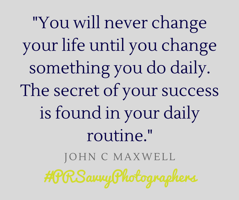 Change your life by changing your daily routine