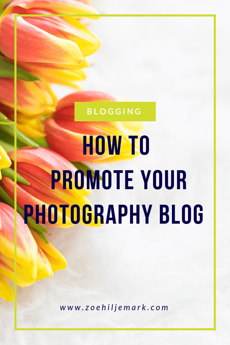 How to promote your photography blog