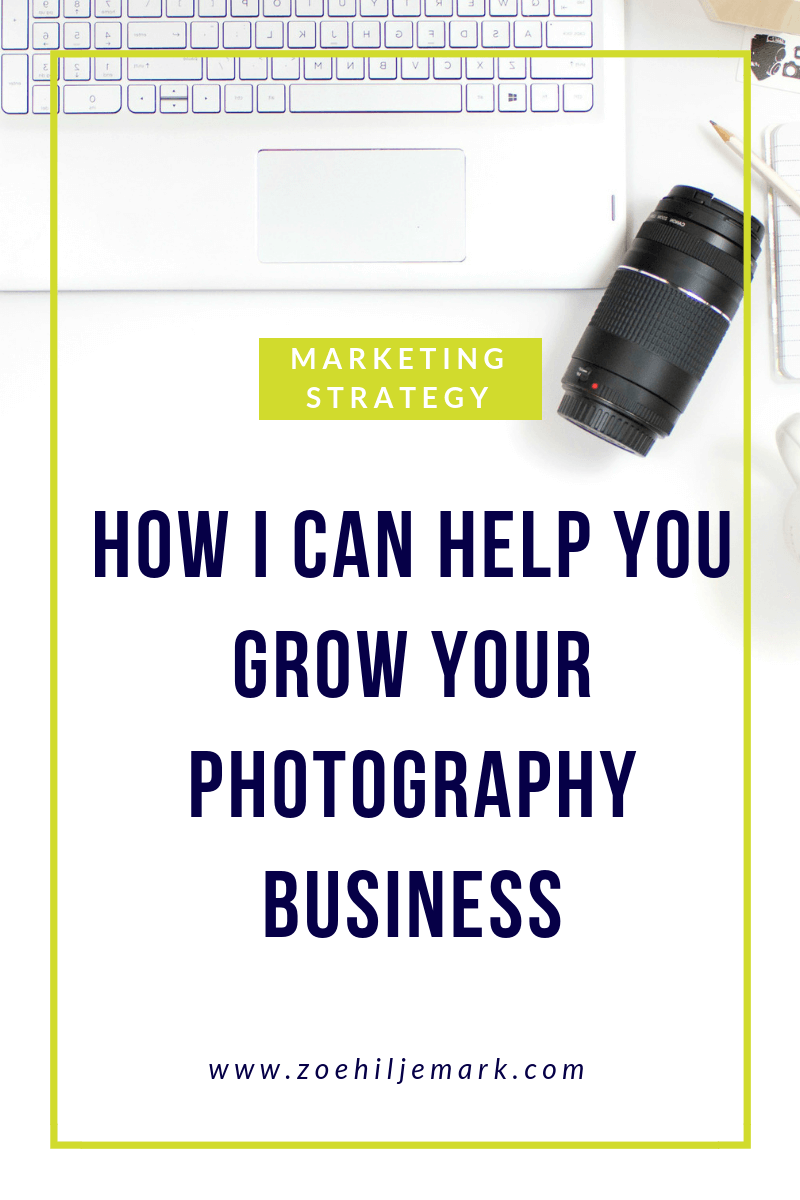 How I can help you grow your photography business