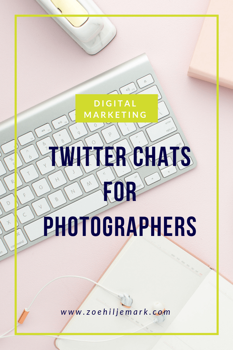 Twitter chats for photographers