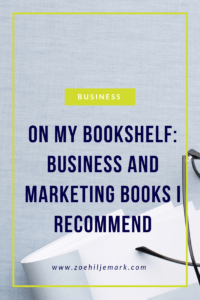 Business and marketing books I recommend