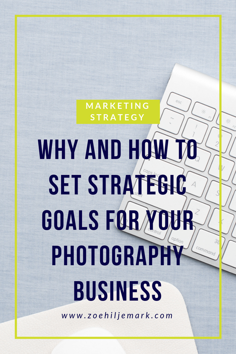 Why and how to set goals for your photography business