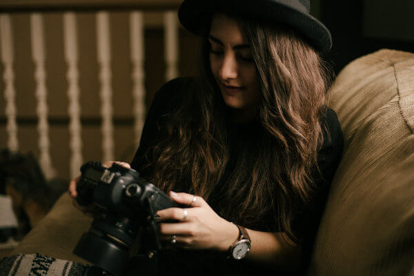 Female photograher | how to love your photography business