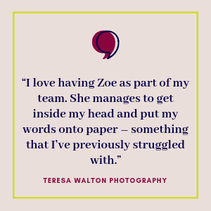 Testimonial from Teresa Walton Headshot Photography