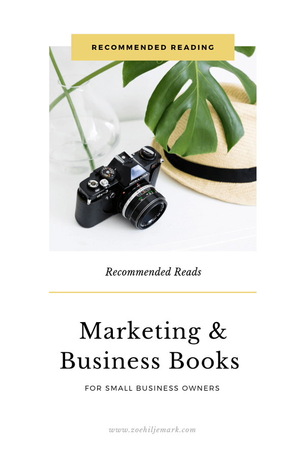 Recommended marketing and business books