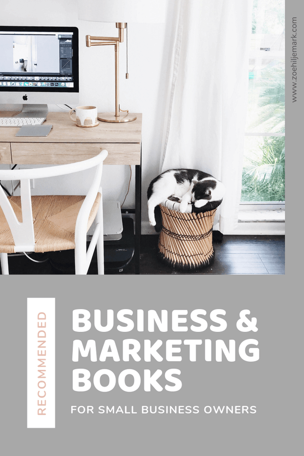 Recommended business and marketing books for small business owners