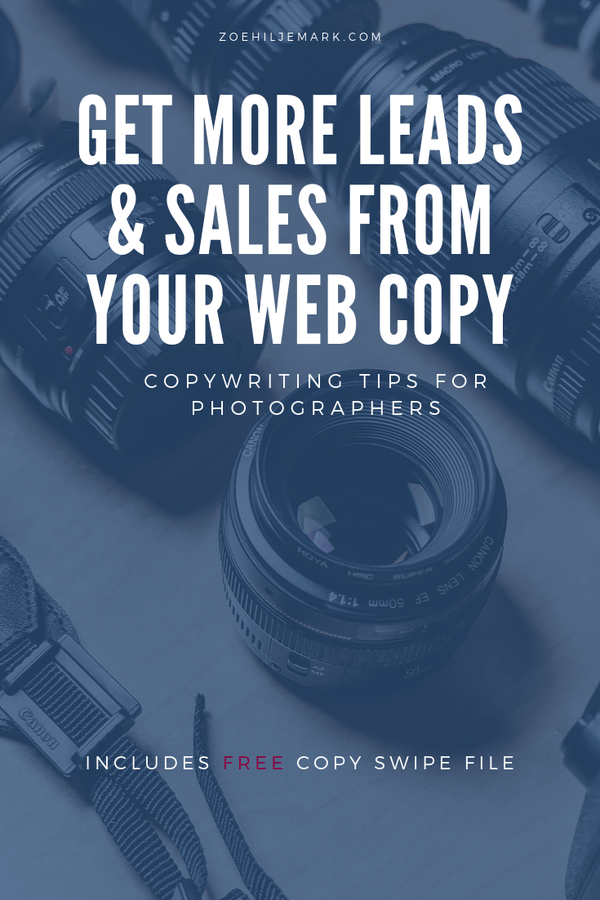 How to get more leads and sales from your web copy