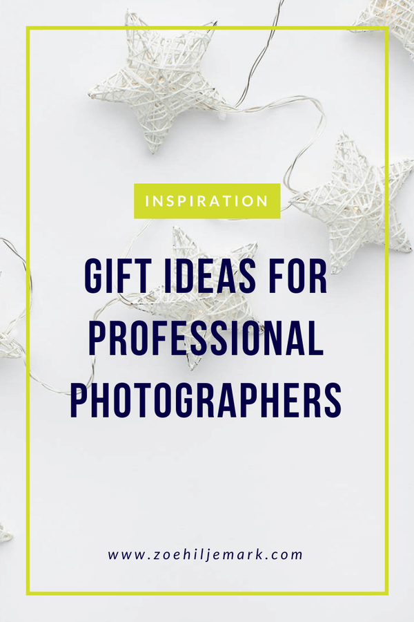 Gift ideas for professional photographers