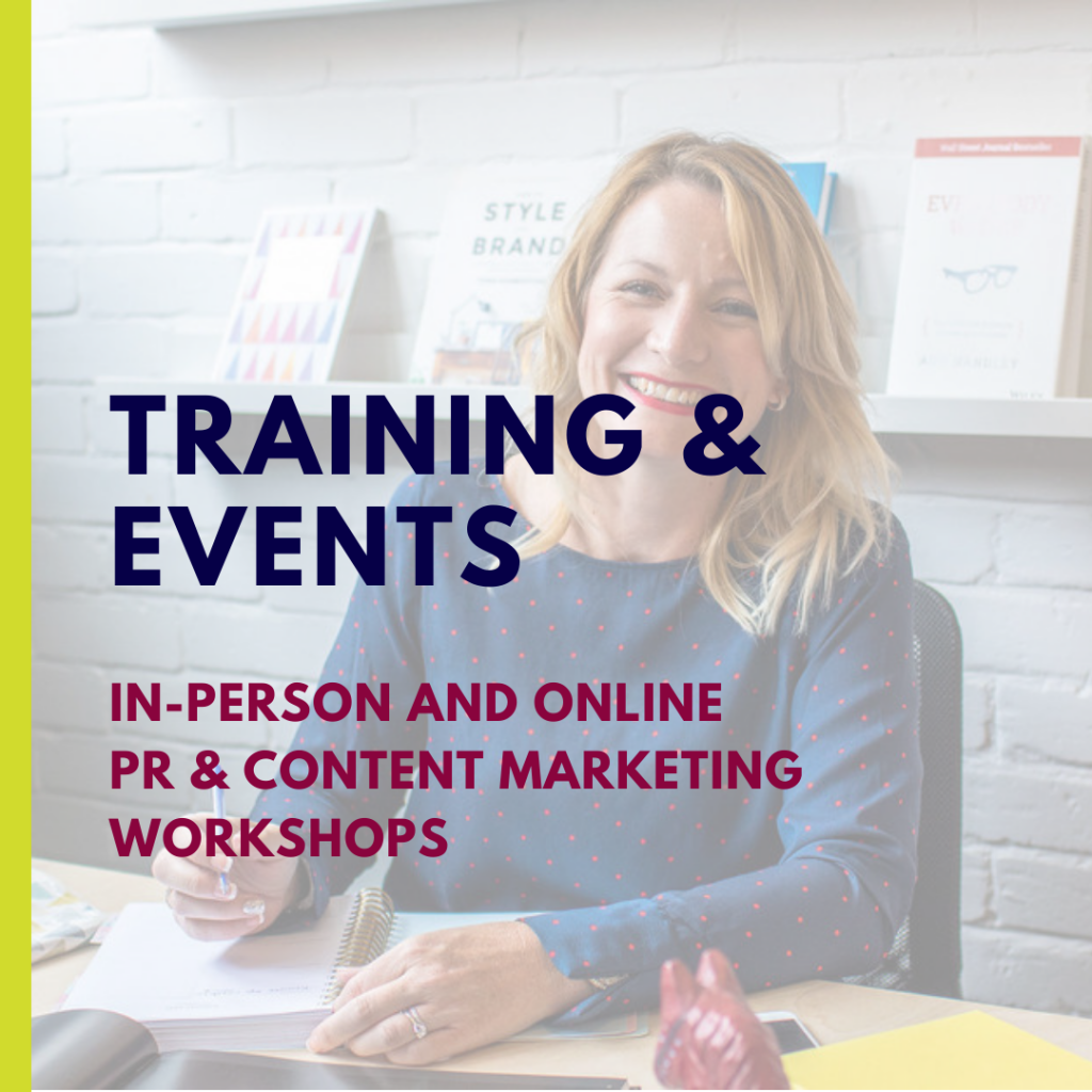 Training and Events | Zoe Hiljemark