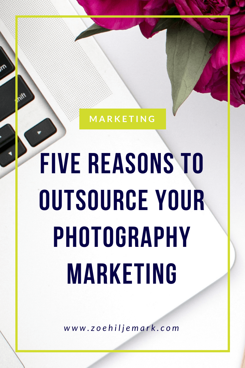 Five reasons to outsource your photography marketing
