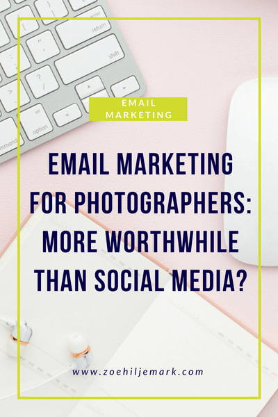 Email marketing for photographers: More (or less) worthwhile than social media?